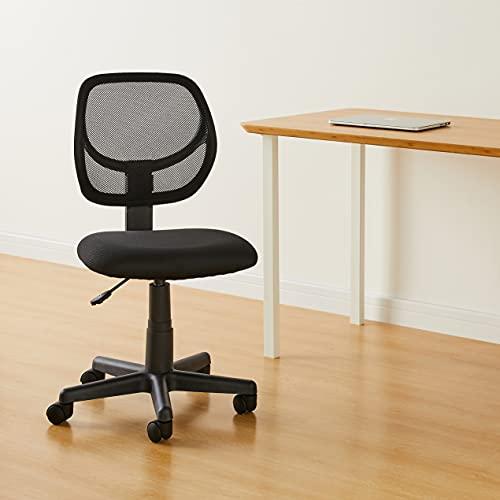 Amazon Basics Low-Back, Upholstered Mesh Chair