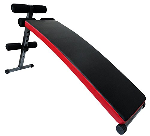 KOBO Sit up Curve Bench for Abs Exercises Home Gym