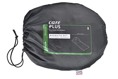 Care Plus de Pop Up Dome Mosquitera impregnada para 1 persona