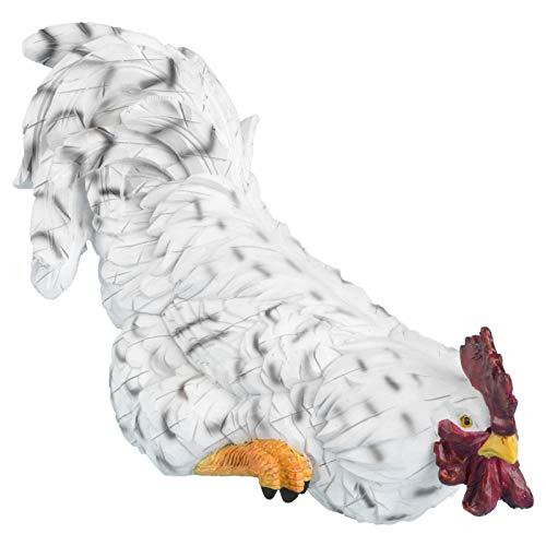 Cabilock Coq De Poulet Figurine Ferme Animaux Collection Décoration Figurine Collection De Pâques Party en Plein Air Jardin Intérieur Maison Décoration