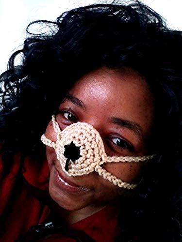 Crochet Pet Inspired Unisex Nose Warmer