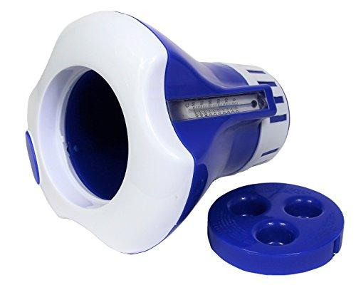 Dosierschwimmer mit Thermometer für bis zu 5 200 g Tabletten