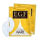 EGF ポイントショット[ 2枚入 × 2回分 ]マイクロニードルパッチ( 針型EGF美容液 )2袋セット