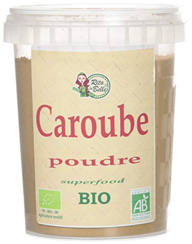 RITA LA BELLE Poudre de Caroube Bio 250 g - Lot de 4