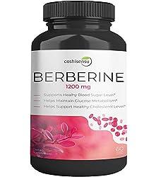 in budget affordable Berberine HCI 1200 mg – Premium Berberine Supplement for Diabetes – 60 Capsules Maximum Strength HCI…