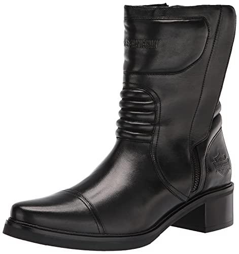 Harley-Davidson Women's Jerilynn Moto Motorcycle Boot, Black, 5.5