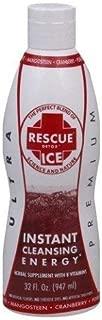 Rescue Detox Ice Cranberry Pomegrante Mangosteen 32 Fl oz