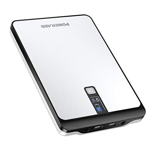 Poweradd Pro Pilot 2Tragbares Ladegerät, 23000mAh, Multispannung (9 V, 12V, 16V, 19V, 20V), tragbar, externes Akku-Ladegerät mit digitaler LCD-Anzeige, Smart, für Tablet, Netbooks, Notebooks, Laptops, Smartphones und mehr