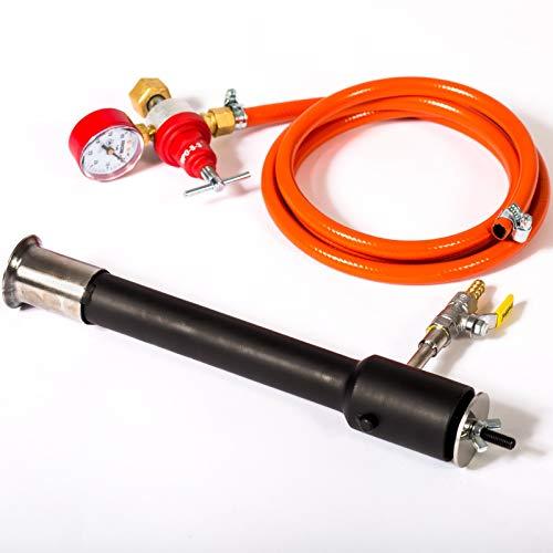 Quemador de gas DFC (180.000 BTU) | Forja de propano, horno de fusión de metales, Cuchillo de herrero Herrador de Raku de fundición refinerias