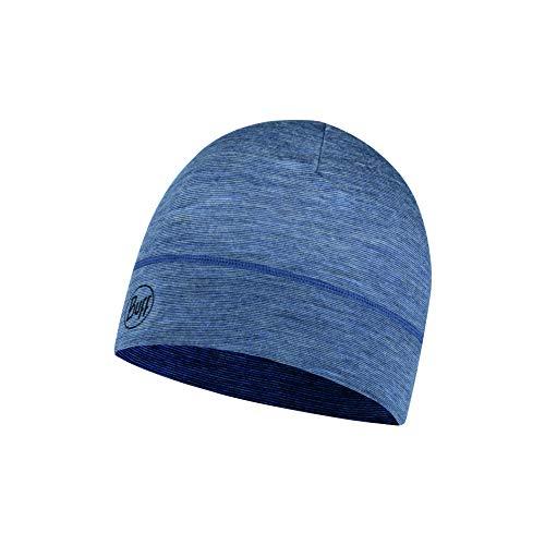 Buff Erwachsene Lightweight Merino Wool Hat, Light Denim, One Size