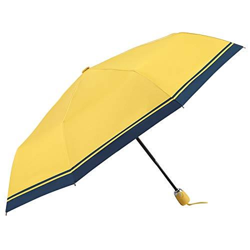 NIUPAN Paraguas automático sombrilla de negocios playa paraguas par plegable equipo de lluvia