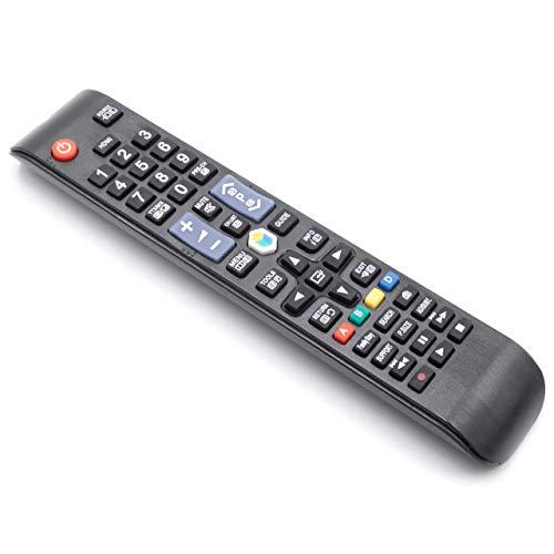 vhbw Fernbedienung passend für Samsung UE37ES6300, UE37ES6307, UE40ES6100, UE40ES6140, UE40ES6200, UE40ES6300 Fernseher, TV