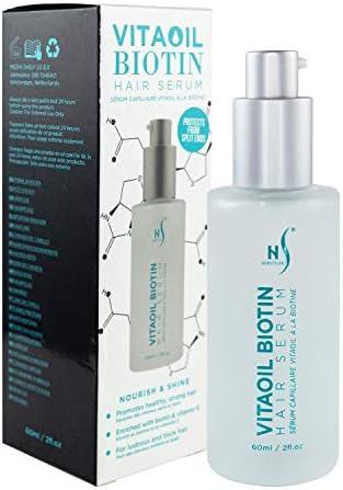 VitaOil Biotin Hair Serum for Hair Growth Hair Loss Serum Biotin Argan Oil Aloe Vera Hair Growth product image