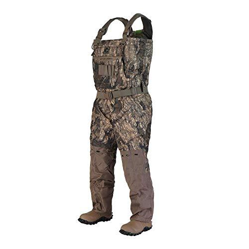 Gator Waders Mens Shield Series Insulated Breathable Hunting Waders, Realtree Timber, Long 12
