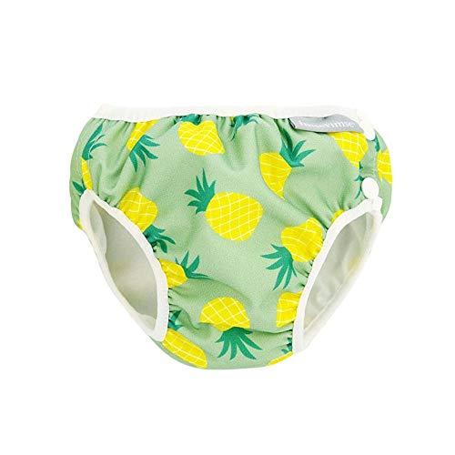 Imsevimse Badewindel Aquawindel Schwimmwindel (Pineapple, XL (11-14 kg))