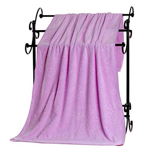 Whatyiu Superfine Fiber Bath Towel, 27.6 x 55.1inch Unisex Big Bath Towel Quick Drying Beach Towel