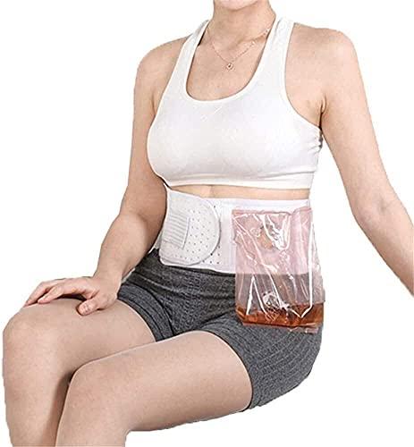HXSCOO Cinturón de la Hernia de la ostomía Cinturón de la Hernia de la Hernia de la Hernia para prevenir la Bolsa de la Hernia de la colostomía de la Hernia de la parrasomal Cuidado postoperatorio