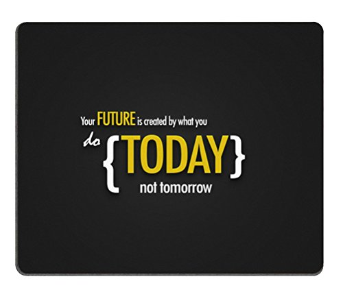 Inspirational Motivational Wallpaper New Year Mouse Pad - Durable Office Accessory Desktop Laptop MousePad and Gifts For Gaming mouse pads
