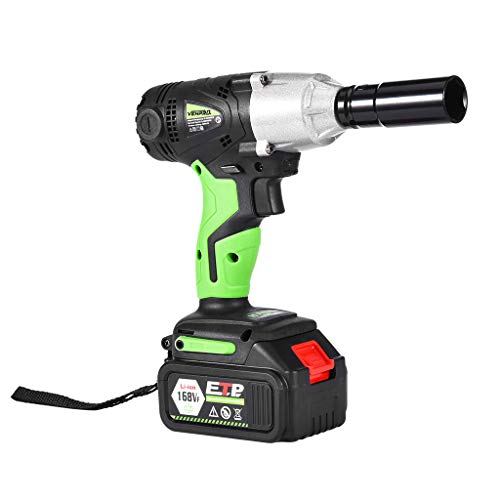 Makkalen Lucky 7!!! 1/2In Cordless Electric Impact Wrench G-Un Drill Tool Fast Charge 2 X Battery