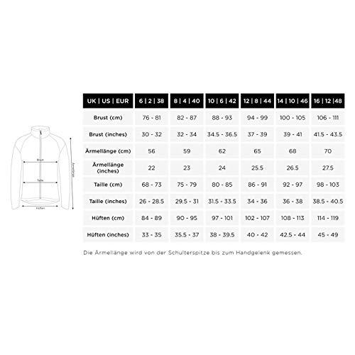 Proviz Women's Reflect 360 Running Jacket-Silver/Black, Size 14