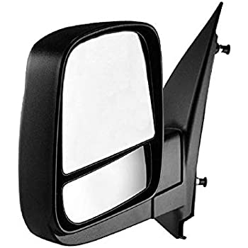 Amazon Com Driver Side Mirror For Chevy Express Gmc Savana 03 04 05 06 07 08 09 10 11 12 13 14 15 16 17 Textured Non Heated Folding Left Outside Rear View Replacement Door Mirror Gm1320284 Automotive