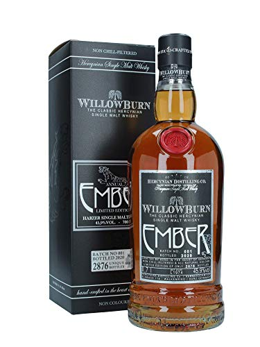 Elsburn Willowburn Ember, Single Malt Whisky, 2020, 0,7 l