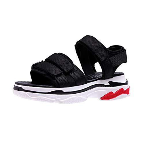 Sandali Casual da Donna Estivi Comfort Traspirante Ballerine da Donna con Zeppa Fondo Spesso Calzature da Donna Piattaforma Scarpe Sportive da Spiaggia