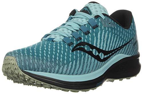 Saucony Women's Canyon TR Trail Running Shoe, Marine/Black, 10