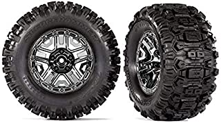 Traxxas 9072 Tires & Wheels, Assembled, glued