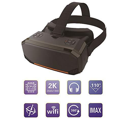 VRGLASS Wi-FI Écran 2K Casque VR Lunettes 3D Réalité Virtuelle Une Machine Assistance Processeur 4 Coeurs Son Surround Grand Angle De Vue 110 °