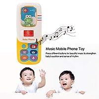 環境に優しい無毒の携帯電話のおもちゃ、耐久性のある赤ちゃんの携帯電話のおもちゃ、赤ちゃんの子供女の子のための子供