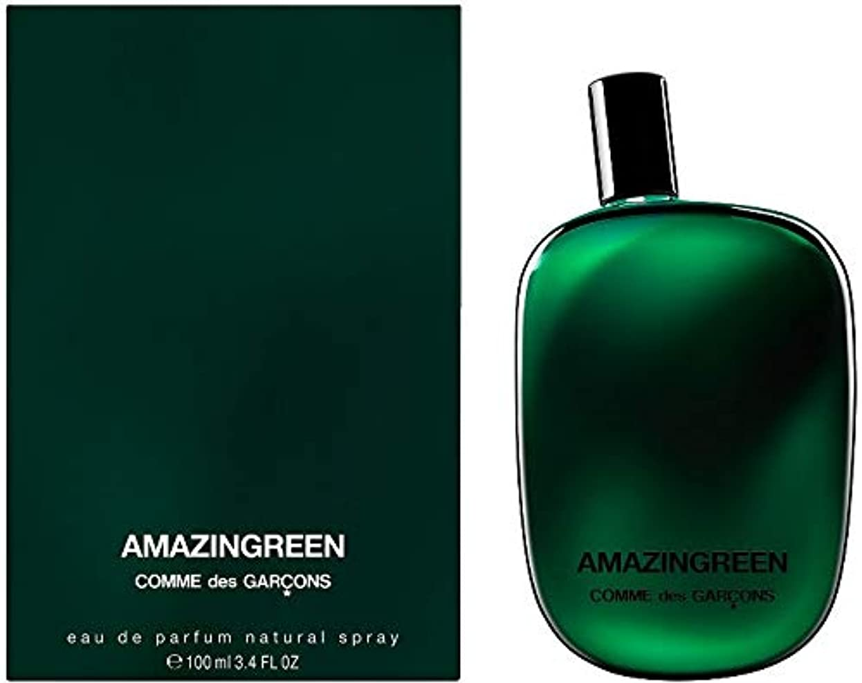ハンカチ寄稿者進むComme des Garcons Amazingreen Eau de Parfum 25 ml New in Box