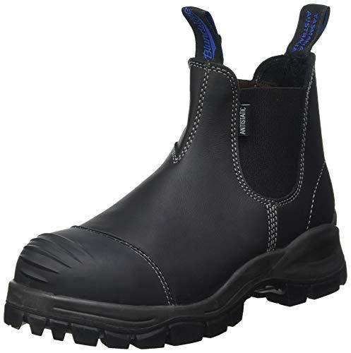 BLUNDSTONE Herren Work & Safety Chelsea Boot, Black Platinum, 47 EU