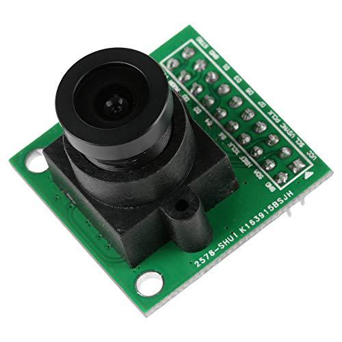 Módulo de cámara de gran ángulo, sensor de imagen Lentes de vidrio Formato de imagen Alta transmitancia de luz hecha de ab