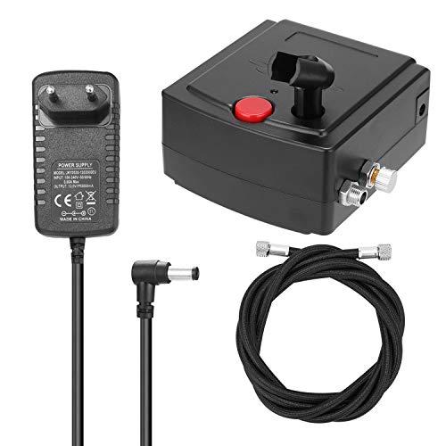 KKmoon 100-250 V Compressore d'aria portatile per la macchina di spruzzatura del fiore di modello,...