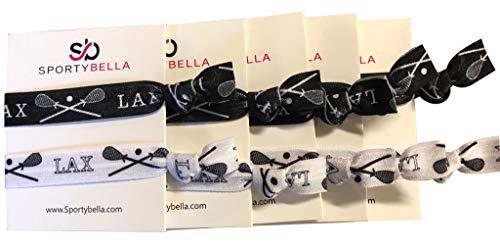 Lacrosse Hair Accessories, 5 Pack Lacrosse Hair...
