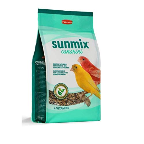 Padovan Alimento natural completo para canarios con adición de vitaminas – 850 g