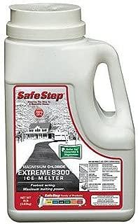 North American Salt 53808 Magnesium Chloride Ice Melter, 8-Pound