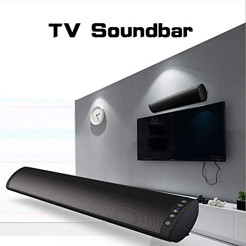DBGS Draadloze en kabel-tv soundbar 20 W Bluetooth soundbar 3D surround sound afstandsbediening wandmontage optisch compatibel