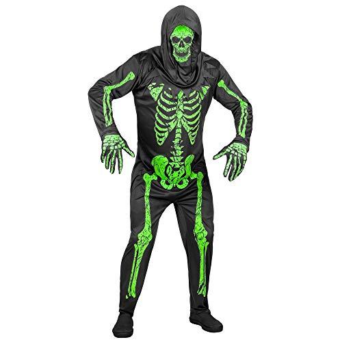 Widmann Kostüm Neon Skelett