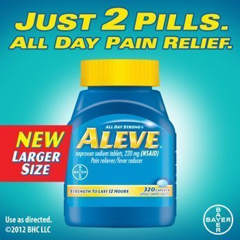 Aleve® Caplets Pain Reliever Fever Reducer, 320 Caplets Personal Healthcare / Health Care