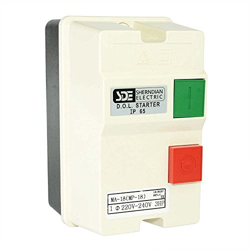 Big Horn 18823 1-Phase, 220-240-Volt, 3-HP, 18-26-Amp Magnetic Switch - CSA Approved