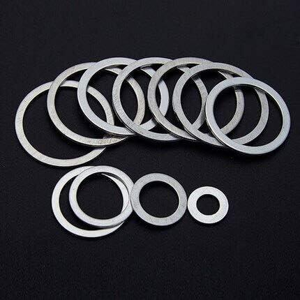 Lysee Omaha Mall Washers Tulsa Mall - 30pcs M2 gaskets flat aluminu ultra-thin washers