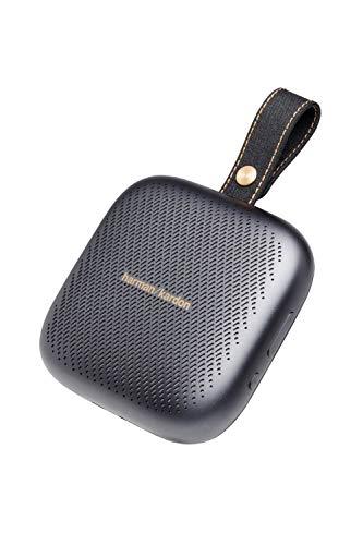 Harman Kardon NEO ワイヤレスポータブルスピーカー Bluetooth/防水IPX7対応/最大10時間再生/ノイズキャンセリングスピーカーホン機能搭載 グレー HKNEOGRYBSG【日本正規代理店品】