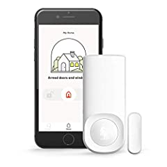 SECURITY FOR ALL: If you've got a smartphone, WiFi and something to monitor, our Motion + Entry Sensors have you covered. Whether it's your bedroom, office, playroom or snack cabinet, the Kangaroo Motion + Entry Sensor detects when a window or door i...