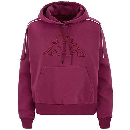 Kappa Logo Tape Bicli, Sweatshirt für Damen S violett