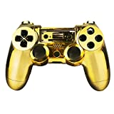 SQDeal Housing Gaming Controller Shell Polished Glossy Case Protective Skin Replacement Part Fit for Sony Playstation 4 PS4 Controller