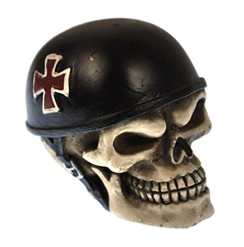 Nemesis Now Skull Racer Gear Knob 8.5cm Schaltknauf, Totenkopf-Design, 8,5 cm, Kunstharz, elfenbeinfarben, Einheitsgröße