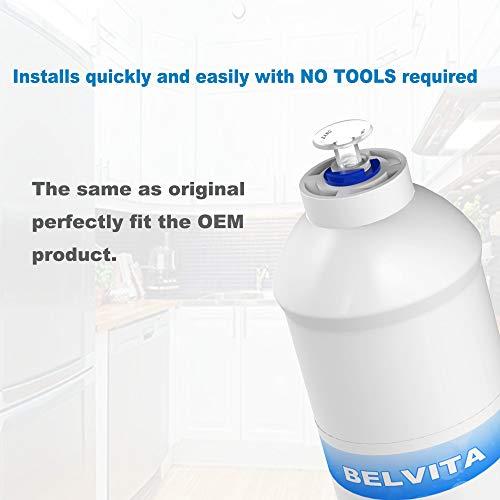 BELVITA Filtro de agua para frigorífico y congelador DA29-10105J ...