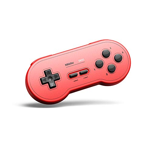 8Bitdo Sn30 Bluetooth Gamepad for Nintendo Switch,Windows,macos,Android,Raspberry Pi (GP Red Edition)